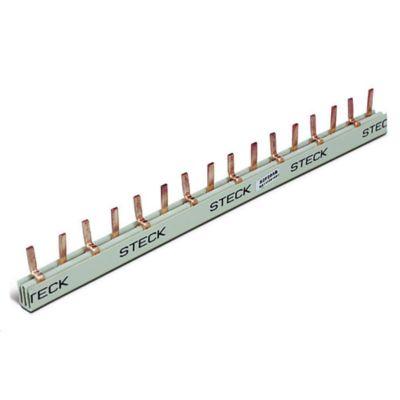 Puente conector 2 x 8 12 polos 80 amp
