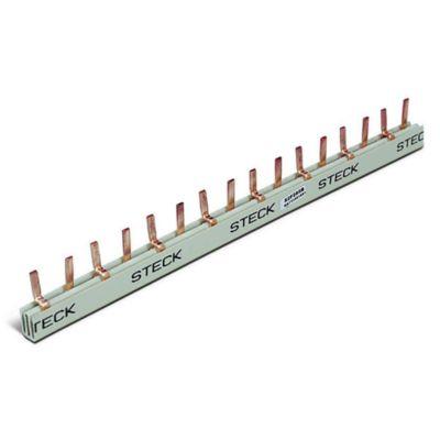Puente conector 2 x 28 56 polos 80 amp