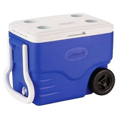 Conservadora 35.6 L con ruedas azul
