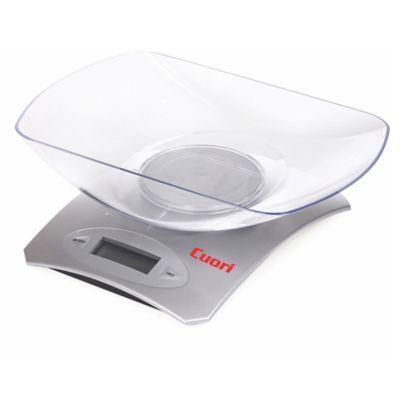 Balanza de cocina digital gris