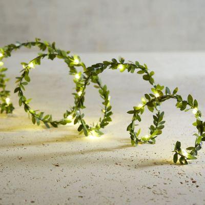 Guía LED de alambre 4 m con 40 luces a pila