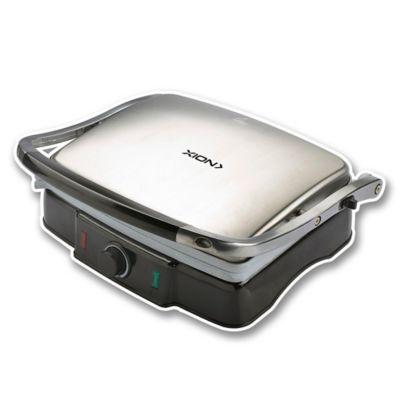 Sandwichera grill 1800 w plateada