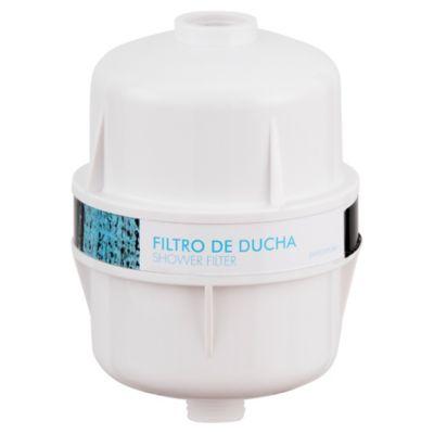 Purificador de agua para ducha blanco anticloro