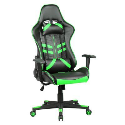 Silla gamer 5 negra y verde
