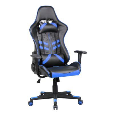 Silla gamer 5 negra y azul
