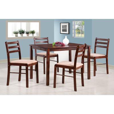Juego de comedor Adara 1 mesa y 4 sillas