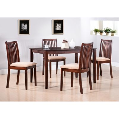 Juego de comedor Bemus 1 mesa y 4 sillas