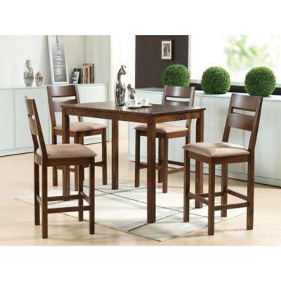 Juego de comedor Doria 1 mesa y 4 sillas