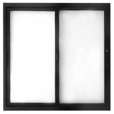Ventana de aluminio corrediza anolock s/20 100 x 100 cm