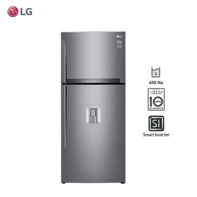 Refrigerador LT41AGP 396 L con dispenser silver