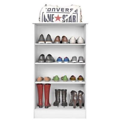 Mueble zapatero 2 puertas blanco