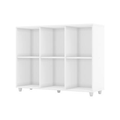 Estantería Aquarela 6 estantes blanco