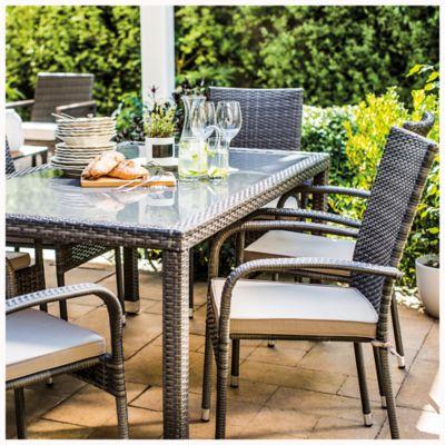 Juego de comedor: Mesa + 6 sillas Portobello