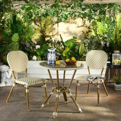 Juego de balcón: Mesa + 2 sillas París