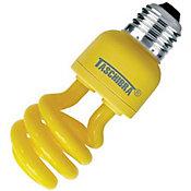 Lâmpada Fluorescente Espiral Luz Amarela 14W 220V