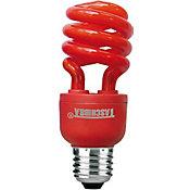 Lâmpada Fluorescente Espiral Vermelha 14W 127V