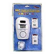Alarme sem Fio com 2 Controles Dni 6060 Branco
