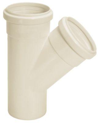 Junção Simples Esgoto Branco 100X50mm