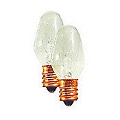 Lâmpada LED E12 Luz Branca para Luz Noturna 6901 7W 220V