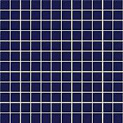 Pastilha de Vidro Cristal L06 2.5x2.5 30x30, Azul 30x30