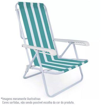 Cadeira de Aço 8 Posições Sortido