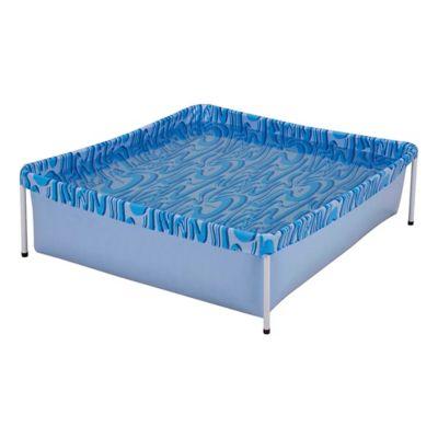 Piscina Retangular 400L Azul