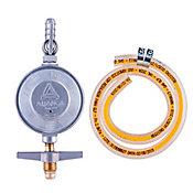 Regulador para Gás Completo 504/1, Cinza, 80cm