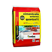 Argamassa Super Externa ACII, Cinza, 20kg