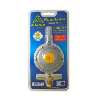 Regulador De Gás Com Registro 506/1 2Kg/H