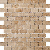 Mosaico Brick Bold, Bege, 30x31cm