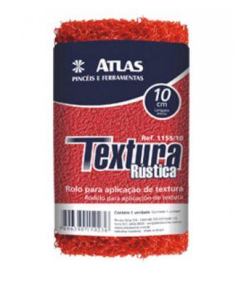 Rolo para Textura Rústica 23cm# REF-1155 Vermelho