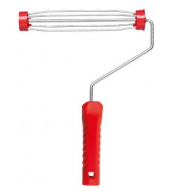 Garfo de Aço para Pintura Gaiola sem Rosca 23cm REF-400/23SR Vermelho