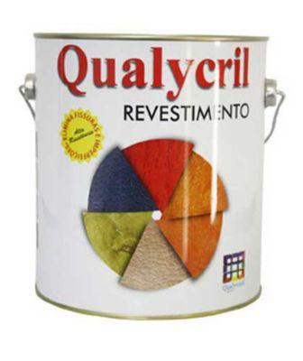 Grafiato Qualycril, Branco, 3.6L, 19x7x7cm