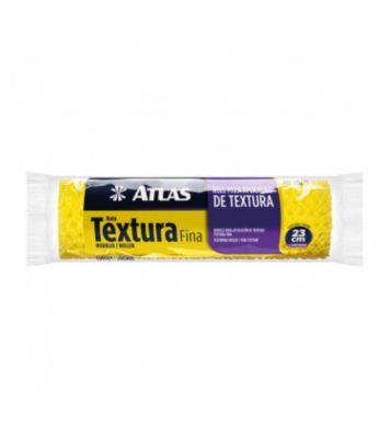 Rolo para Textura Fina de Espuma 23cm REF-110/75 Amarelo