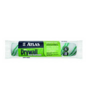 Rolo para Pintura em Pareces Lisas Drywall e Gesso Acartonado 23cm REF-AT321/8