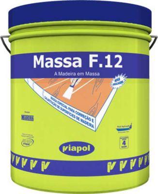 Massa para Madeira F12 900ml Jatobá