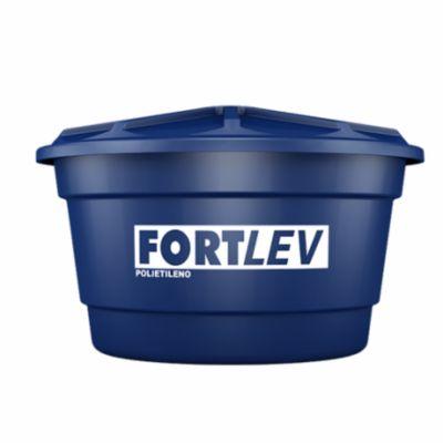 Caixa De Água 2.000L Polietileno Tampa Encaixe Azul