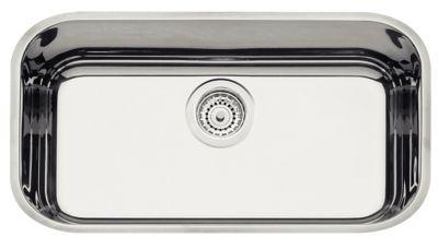 Cuba Retangular Prime Aço Inox 56x34cm Prata