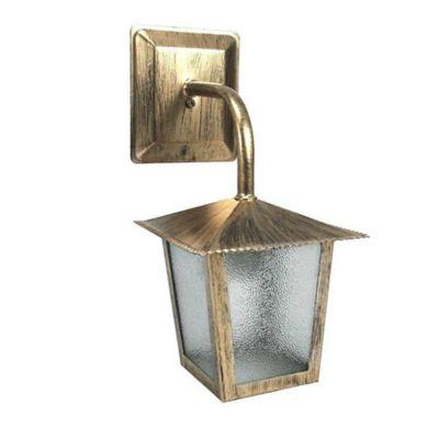Arandela L2B 30x15x20cm Ouro Velho