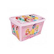 Caixa Decora Alta Princesas, Rosa, 40x28x23cm