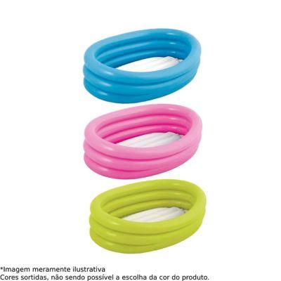 Piscina Inflável Oval 55L Azul