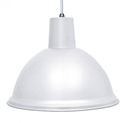 Pendente TD 820 1 Lâmpada 100W Branco