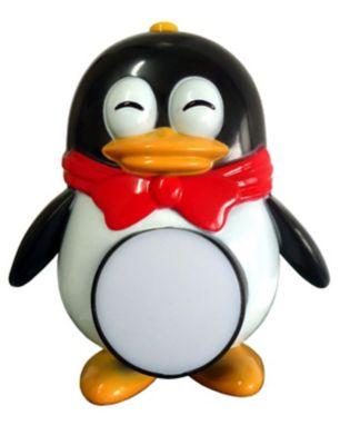 Luz Noturna Pinguim Bivolt 12x18cm Colorido