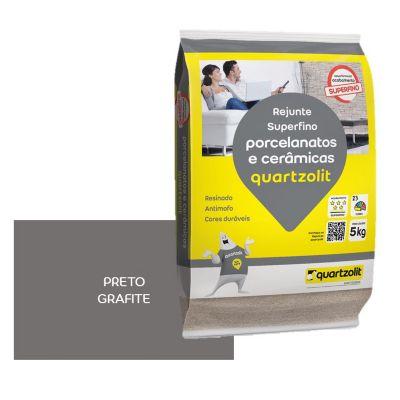 Rejunte Porcelanato PMG 5kg Preto Grafite