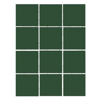 Revestimento Colonial 10x10cm Caixa 1,95m² Telado Verde