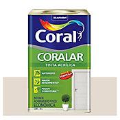 Tinta Fosco Acrílica Coralar Econômico 18L Pérola