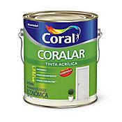 Tinta Fosco Acrílica Coralar Econômico 3,6L Branco
