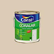 Tinta Fosco Acrílica Coralar 3,6L Areia