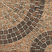 Piso Rocha Forte 4560 45,5x45,5cm Caixa 2,50m² Marrom