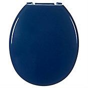 Assento Sanitário Almofadado Tradicional Azul Escuro